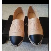 Flats Chanel, Alpargatas Hermosas Todas Las Tallas