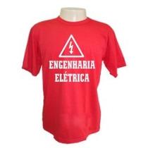 Camiseta Divertidas Engenharia Eletrica Cursos Engraçadas