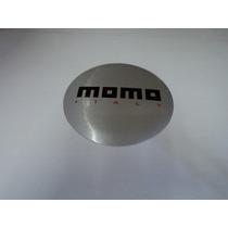 Emblema Momo Italy Para Rodas Esportivas 51mm