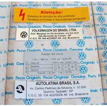 Kit Adesivos Motor Fusca & Fusca Itamar
