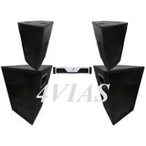 Kit Som (pa) 2 Cxs La212ti + 2 Sb850 Oversound - Loja 4vias