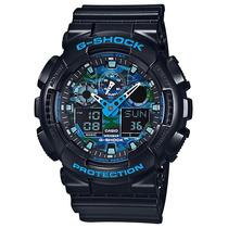 Relógio Casio G-shock Camuflado Masculino Ga-100cb-1adr
