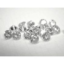 Lindo Diamante De 3 Pontos Vs1 Cor H,r$ 60.00