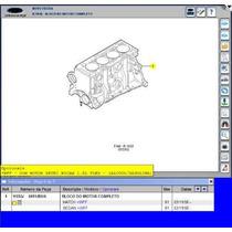 Motor Parcial Zetec 1.6 Gas Bloco Pistão Anéis Virabrequim