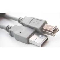 Cable De Impresora Usb 5 Mts-macho Usb 2.0 A-b Certificado