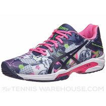 Zapatilla Asics Gel Speed 3 Ny16 W/black/pink Woman