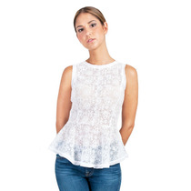Camisa Blanca Guayabita Constanza Para Damas
