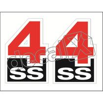 Adesivo Opala Ss4 Paralamas 76 Frete Gratis Opl02 - Decalx