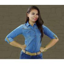 Camisa De Jeans Importada De Los Angeles Marca C