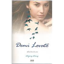 Demi Lovato 365 Dias Do Ano. Livro De Staying Strong.