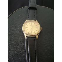 Antigo Relógio Champion 17 Rubis Incabloc Em Plaquê De Ouro