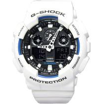 Relógio Casio G-shock Ga-100b-7 H.mundial 5 Alarmes Wr200 Bp