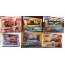Pixar Car Lote Com 5 Cartelas Bombeiro Stanley Trator