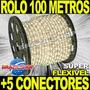 Mangueira Luminosa De Natal Corda Pisca Pisca Rolo 100 Metro