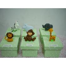 Lembrancinha Maternidade Chá, Aniversários Safari Caixa Mdf