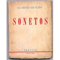 Prilutzki Farny Julia Sonetos Vértice 1942 Primera Edición