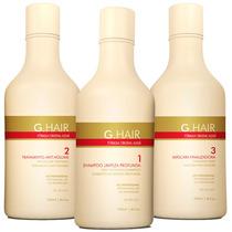 Inoar G Hair Escova Alemã 3x250ml # Muito Mais Tratamento