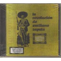 La Revolucion De Emiliano Zapata ( Rock Mexicano ) Cd Rock
