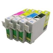 Kit 4 Cartuchos P/impressoras C63/c65/c85/cx3500/cx4500