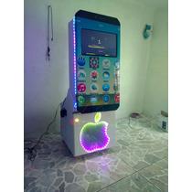 Rockola Karaoke Iphone 7plus Rgb Dd 2tb,humo,lazer,3500w
