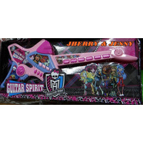 Monster High Guitarra Infantil Luxo