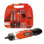 Atornillador Bateria Fdx Black And Decker 3,6v 110pzs