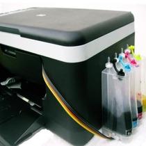 Bulk Ink P/ Hp Impressora C4480 Com Cartuchos 74 E 75