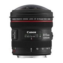 Canon Lente Ef 8-15mm F/ 4l Fisheye Usm