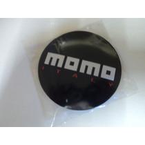 Emblema Momo Adesivo Para Rodas Esportivas 90mm