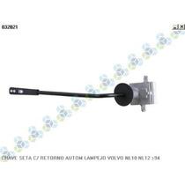 Chave De Seta C/ Retorno Automatico Lampejo Volvo Nl10 /94