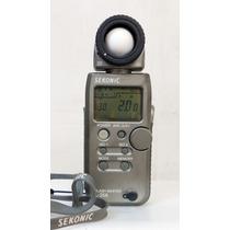 Exposimetro Digital Sekonic L-358 Para Fotógrafo Profesional