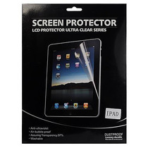Película Protetora Transparente Lisa Para Ipad 2 3 4