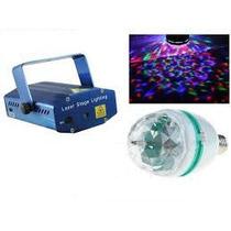 Projetor Holográfico Laser 800 Mw+ Bola Maluca +kit Completo