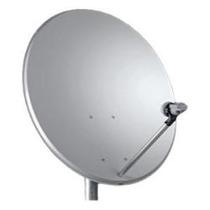 Duas Antena Miniparabólica 60cm + Dois Lnb Duplo+cabos 40 M
