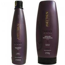 Kit Aneethun Nano System - Shampoo 300ml E Máscara 250g