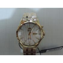Relógio Orient Automático 469gp043 Dourado Luxuoso Lindo
