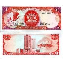 Trinidad & Tobago P-36d Fe 1 Dollar Nd (1985) * C O L *