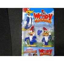 Dupla De Pica Pau Woody Woodpecker Bonecos