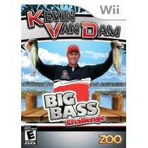 Jogo Pesca Kevin Van Dam Big Bass Challange Pra Nintendo Wii