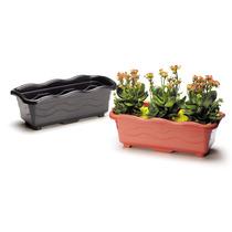 Vaso Jardineira Marmore Para Plantas Kit 4 Peças Coloridos