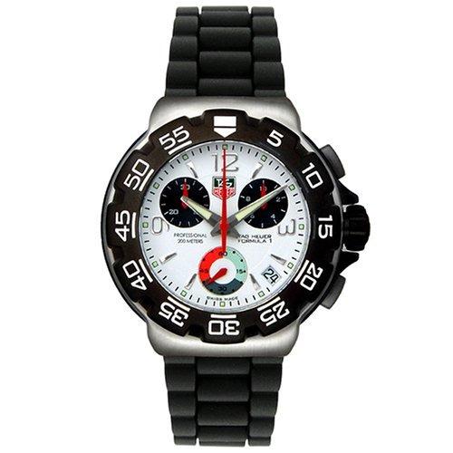 b4993db446f Relógio Tag Heuer Cac1111 0 F1 Bt0705 Borracha Formula 1 One - R  2.499