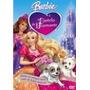 Dvd Barbie E O Castelo De Diamante + Poster Barbie Gratis