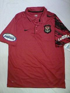 84b9601a5a Camisa Polo Flamengo Oficial Nike Escudo Remo 2007 2008 Nova - R ...