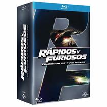 Rápido Y Furioso Todas Las Peliculas 1-7 Bluray Boxset Nuevo