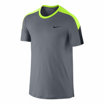 Playera Nike Team Court Crew Tennis Federer Tenis Nadal Rf