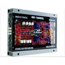 Modulo Amplificador Buster 1600gl - 1600w Com Led E Acrilico