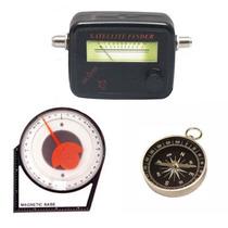 Kit P/ Instalar Antena C/ Bússola, Sat Finder E Inclinômetro