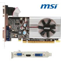 Placa Devideo Geforce Msi G210 1gb Ddr3 Cooler Vga+dvi+hdmi
