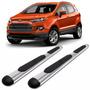 Estribos Cromados Oval Bepo Para Ford Ecosport Kinetic