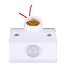 Soquete Bocal E-27 Bivolt Sensor De Proximidade Pir